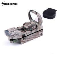 Airsoft Optics Scope Holographic Red/Green Dot Sight Reflex 4 Reticle Tactical Gun Supplies for Hunting