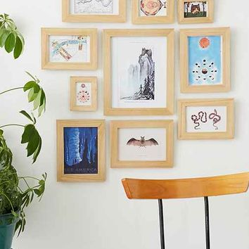 Wood Picture Frame Set- Wood One