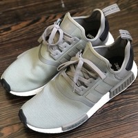 Adidas NMD R1 Boost Olive Green BA7249 12.5 Ultra Runner Trace Cargo
