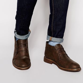 New Look Faux Nubuck Boot