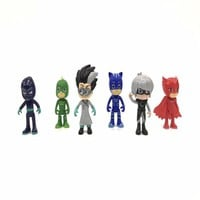 1 Pcs children's toys pj mask masked men's pajamas children pj mask hero figures action figures toy birthday gift best choice