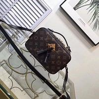 LV Women Leather Shoulder Bag Crossbody Satchel