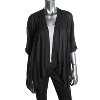 Fluxus Womens Knit Elbow Sleeves Cardigan Sweater