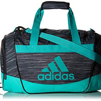 adidas Defender II Duffel Bag, Deepest Space Freerun/Shock Mint, Small