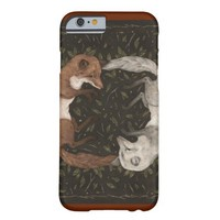 Foxes at Play Barely There iPhone 6 Case