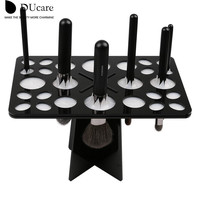 DUcare Makeup Brushes 2 in 1 Drying Holder Stand Dry Brush Hold Brushes Accessories Aside Hang Tools for Makeup Brushes