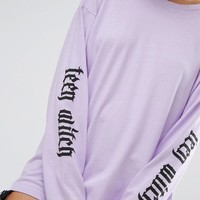 Adolescent Clothing Halloween Teen Witch Long Sleeve T-Shirt at asos.com