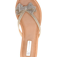 INC International Concepts Women's Mabae Bow Flat Sandals, Created for Macy's | macys.com