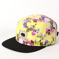 Zephyr Floral Camper 5 Panel Hat at PacSun.com