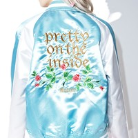Pretty On The Inside Varsity Jacket
