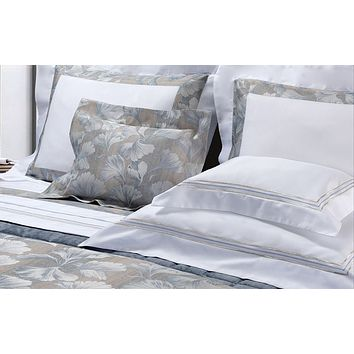 Mark Embroidery Bedding by Dea Linens