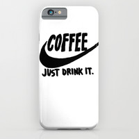 Coffee iPhone & iPod Case by Hand Drawn Type