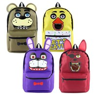 Cool new hot game backpack   at Freddy horror game backpacks 4 styles gift for game fans daily use nylon bag ab245