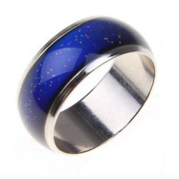 Stainless Color-Changing Mood Ring