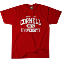 Cornell - Property - T-Shirt (Red)