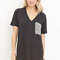Space Dyed-Pocket Tunic