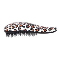 Detangling Brush By Pro-Nu® - Detangling Brush Works As a Detangler for Thick, Thin, Curly, Fine, Natural, Color Treated, Damaged, Wet or Dry Hair - No More Tangle - Adults & Kids - Gentle As a Comb - Pink and Black Color - 100% SATISFICATION and LIFETIME