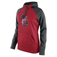 Nike Therma-FIT All-Time Pullover (MLB Cardinals) Women's Training Hoodie