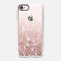 Ab Fan White Transparent iPhone 7 Case by Project M | Casetify