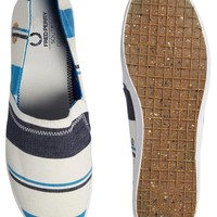 Fred Perry Kingston Stampdown Plimsolls