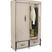 Walmart: Honey-Can-Do Double-door Wardrobe with Two Drawers