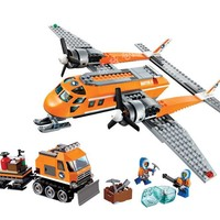 10441 391pcs Arctic Supply Plane Model Building Blocks City Series Educational Toys Hobbies For Children Compatible With Legoing