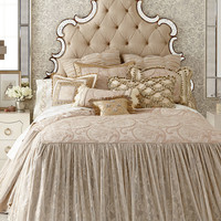 """King Coverlet, 76"""" x 80"""" with 30""""L Skirt"""