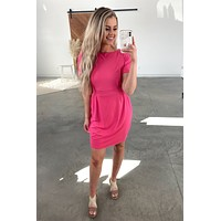 Every Moment Dress - Fuchsia