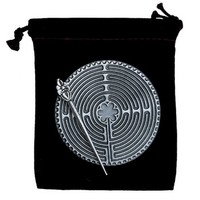 Chartres Meditation Labyrinth in Pewter | Whisperingtree.net