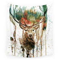 Society6 DEER IV Wall Tapestry