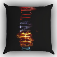 Supernatural logo Z0203 Zippered Pillows  Covers 16x16, 18x18, 20x20 Inches
