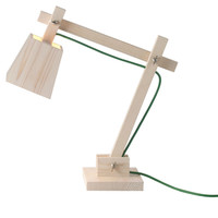 Wood Architect Lamp - A+R Store
