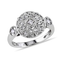 Diamond Fashion Ring 1/7ctw - Size 7