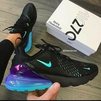 "Air Max 270  ""Black&Purple"""