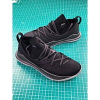 Under Armour Curry 5 Black Basketball Shoes