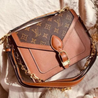 LV Louis Vuitton Newest High Quality Fashion Women Bag Leather Crossbody Satchel Shoulder Bag