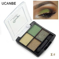 4 colors Free shipping glitter eyeshadow palette naked makeup brand colorful cosmetics professional shining eye shadow brush