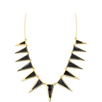 House of Harlow 1960 Jewelry Echelon Collar Necklace