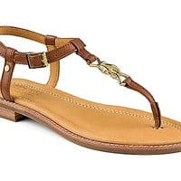 Gold Cup Sandal