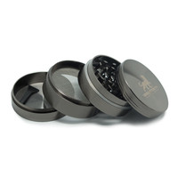 Sabertooth Precision Grinder - 4pc - Chromium - 2.2 or 2.5 Inches