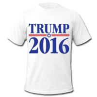 Trump 2016 | Men's T-Shirt by American Apparel