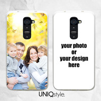 Personalized photo phone case for LG g2, LG g2 mini, LG g3, Nexus 4, Nexus 5, L70, L90 - custom made with your own image or design