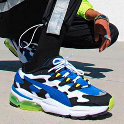 Image of PUMA CELL ALIEN OG Fashionable Men Casual Running Sport Shoes Sneakers Blue&Green