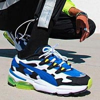 PUMA CELL ALIEN OG Fashionable Men Casual Running Sport Shoes Sneakers Blue&Green