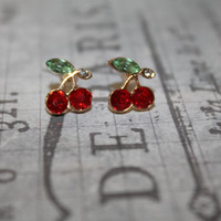 Chery Post Earrings - High Fashion - Unique Gift for Her