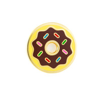 Chocolate Frosted Donut Pin