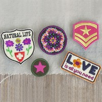 LOVE  Adventure  Patch  Set  From  Natural  Life