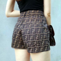 FENDI Fashion Casual F Letter Shorts
