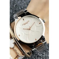 8DESS Coach Woman Men Fashion Quartz Classic Wristwatch Watch