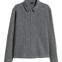 H&M Wool-blend Shirt Jacket $24.99